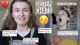 Baixar GIRLY Q&A / RELATIONSHIPS ADVICE WITH MY SISTER | SINGLE PRINGLE ME VS TAKEN SISTER