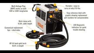 Hobart 500548 AirForce 500i Plasma Cutter review