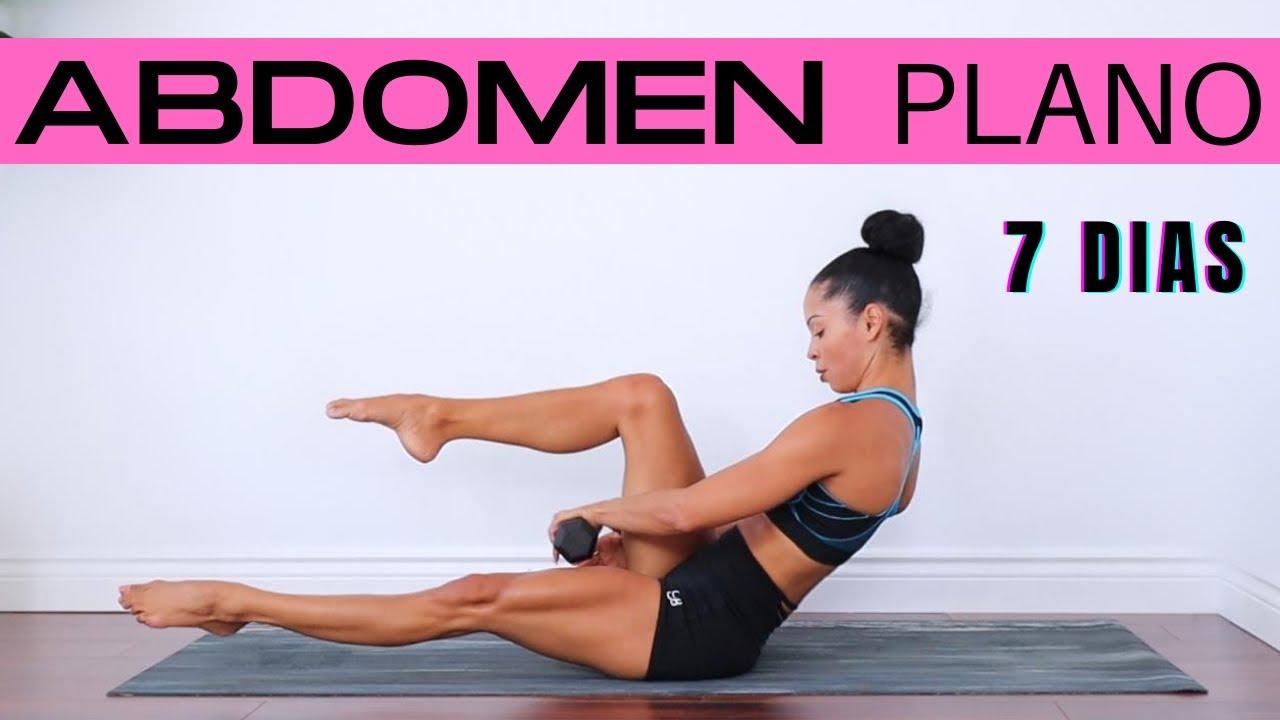 VIENTRE PLANO EN UNA SEMANA   Ejercicios para marcar Abdomen   Six Packs workout