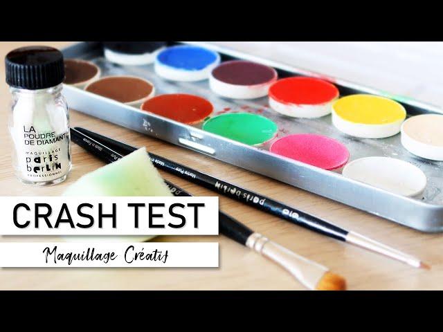 CRASH TEST - Maquillage créatif