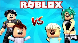 BEAUTIFUL BABY OR BABY FEO? CHALLENGE WITH MY NOVIO WHAT YOU PREFER IN ADOPT ME at ROBLOX 😱