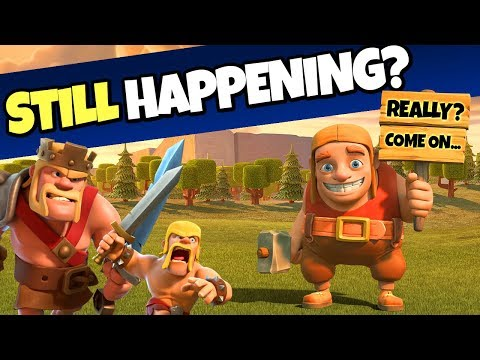 HOW IS THIS STILL HAPPENING IN CLASH OF CLANS?!?!