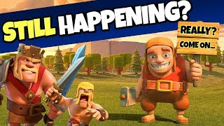 HOW IS THIS STILL HAPPENING IN CLASH OF CLANS?!...