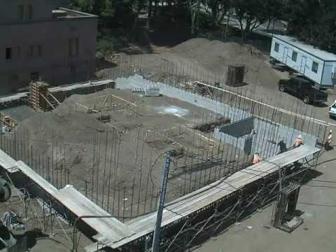 USC University Club Construction Aug. 2011 to June 2012