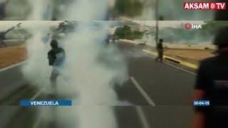 Venezuela Darbe Girişimi Başladı