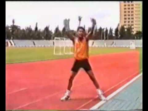สอนเต้นแอโรบิค สนามกีฬาไทยญี่ปุ่น ปี1998