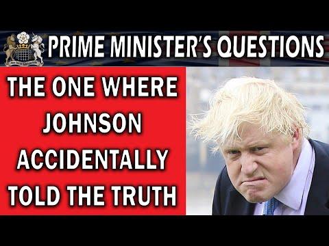 Boris Johnson Tells