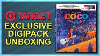 Coco Target Exclusive Digipack Unboxing