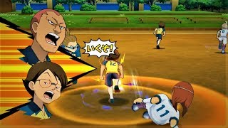 Inazuma Eleven GO Strikers 2013  Raimon vs Zeus WII (Dolphin Emulator)