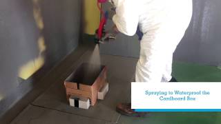 GCP Applied Technologies Silcor Polyurea Waterproofing Test with CJ Spray