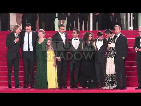 CANNES FILM FESTIVAL 2014 - Ryan Reynolds and the Captives cast on the red carpet