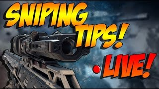 CoD Black Ops 3 - Sniping Tips -[HOW TO PRACTICE GUN SKILL]