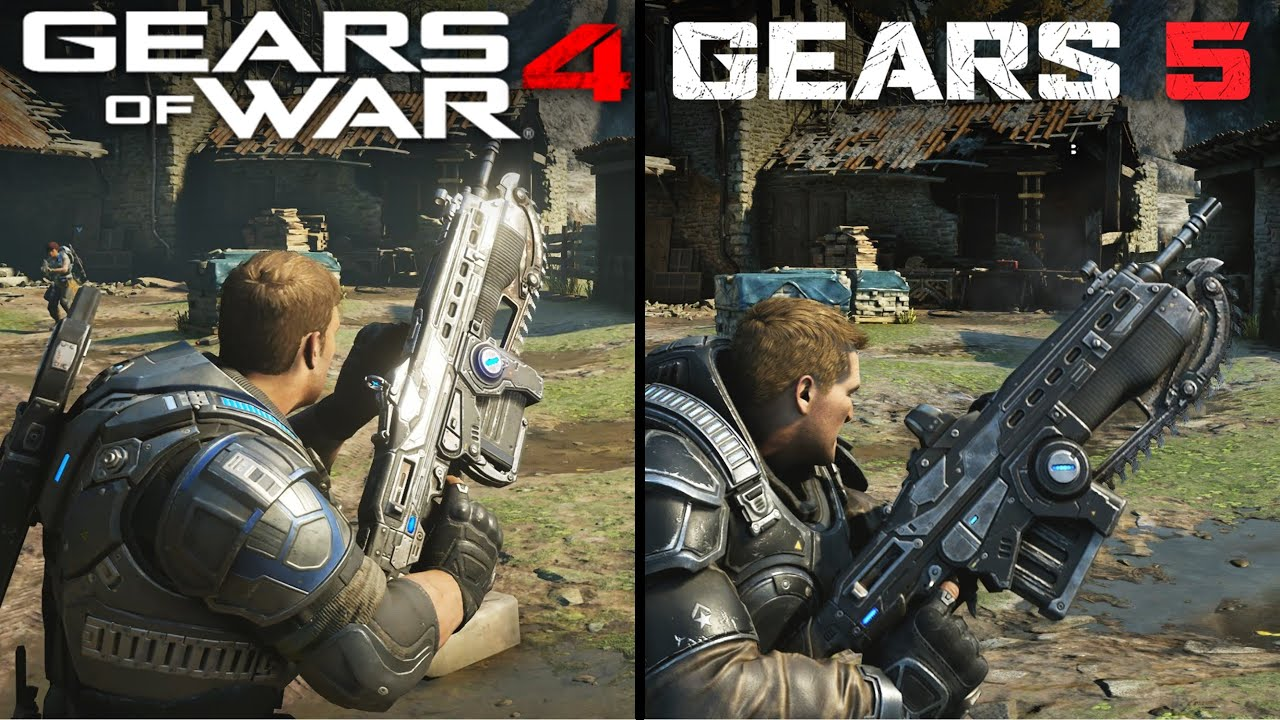 Gears 5 vs Gears of War 4 | Direct Comparison thumbnail