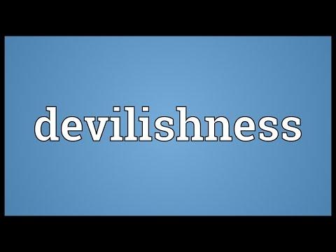 Header of devilishness