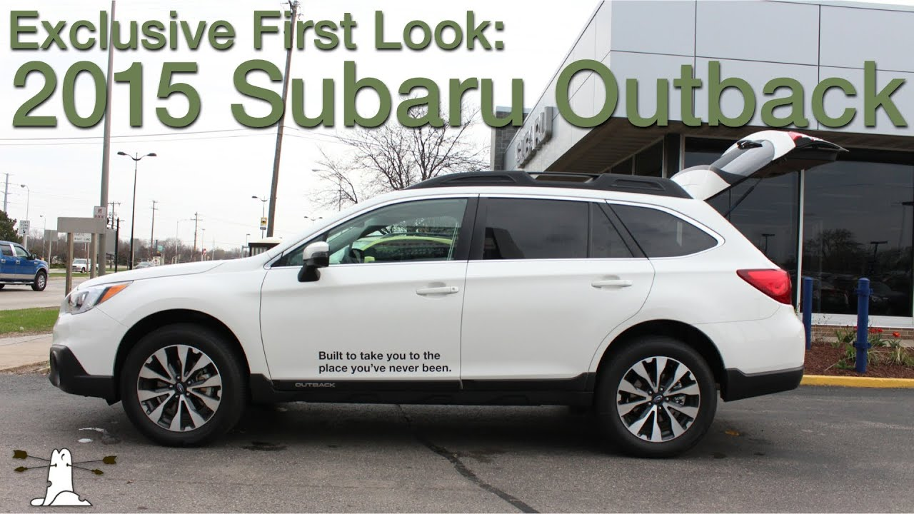 when is the 2015 subaru outback coming out autos post. Black Bedroom Furniture Sets. Home Design Ideas