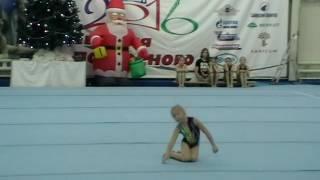 Фабрикова Варвара, спортивная гимнастика, программа 1-го юношеского разряда, вольные упражнения.
