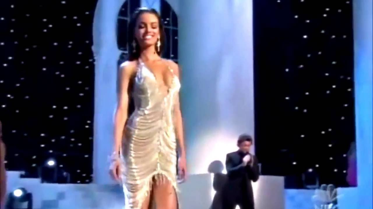 Zuleyka Rivera - Evening Gown - MU 2006 (HD) - YouTube