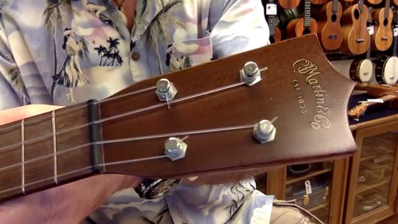 martin ukulele values