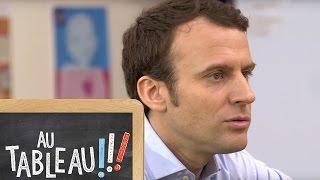 Emmanuel Macron et la paternité - Au tableau !