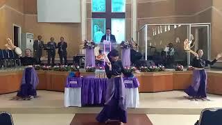 Ku DiBri Kuasa - JPCC Worship Tarian Tambourine Lagu Pujian