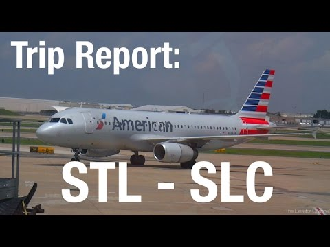 TRIP REPORT - American (A320), St Louis to Salt Lake City