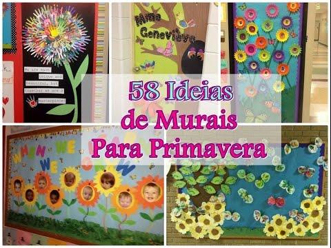 58 Ideias Para Murais de Primavera