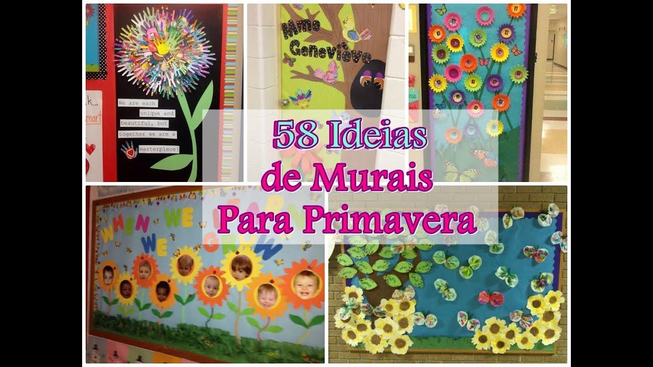 58 Ideias Para Murais De Primavera Youtube