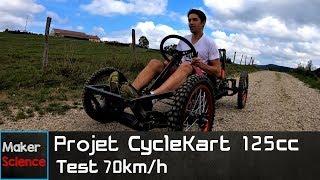 Projet Cyclekart 125cc - Test 70Km/h thumbnail