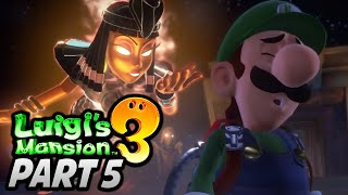 "[🔴LIVE] ""THESE ROOMS GET COMPLICATED!"" - Luigi's Mansion 3 (Story Mode) Playthrough - Part 5"