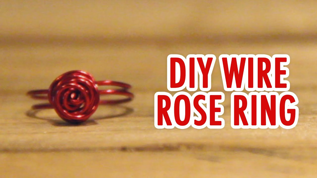 Diy Wire Rose Ring Center Simpleiraudiolinkcircuitjpg Quick Easy Hgtv Handmade Youtube Rh Com Butterfly Rings Make Your Own