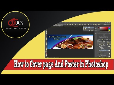How To Make Facebook Cover Photo Design in Photoshop Tutorial thumbnail