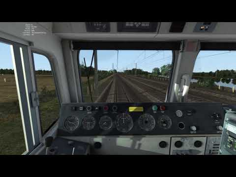 TS2017 - Engineering train to Welwyn GC - Class 66