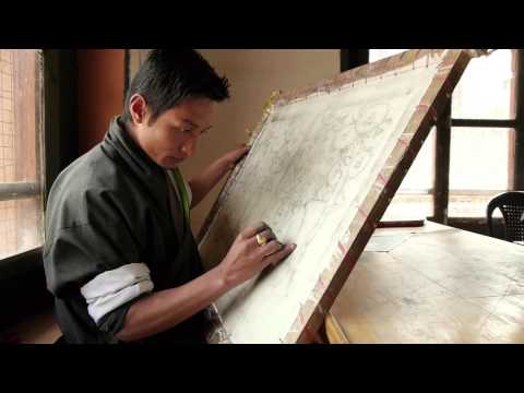 CHOKI - Choki Traditional Art School -  Bhutan