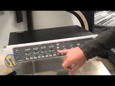 digidesign 003 rack factory new pro tools rig at 125th aes show