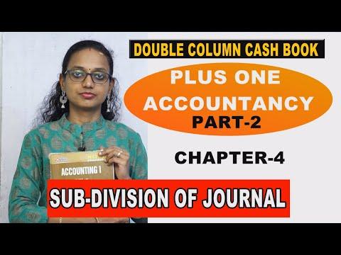 PLUS ONE ACCOUNTANCY DOUBLE COLUMN CASH BOOK PART-2