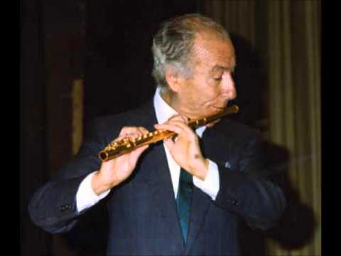 Handel. Sonata op. 1 N 7 / Severino Gazzelloni / Bruno Canino (from LP, 1960s)