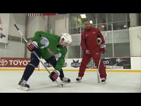 Faceoffs hockey tips on ice