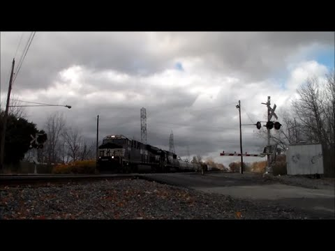 NS and CSX Action West of Cleveland