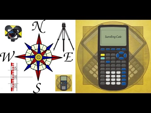 Surveying  Calculator Part 2 - Land Surveying - Civil Engineering App On Your Mobile Phone