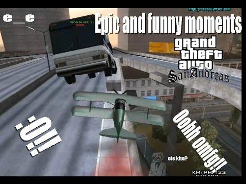 Epic & Funny moments GTA SA