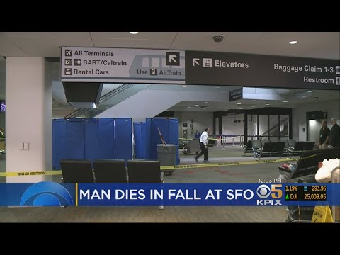 Man Plunges To His Death In Terminal At San Francisco International Airport