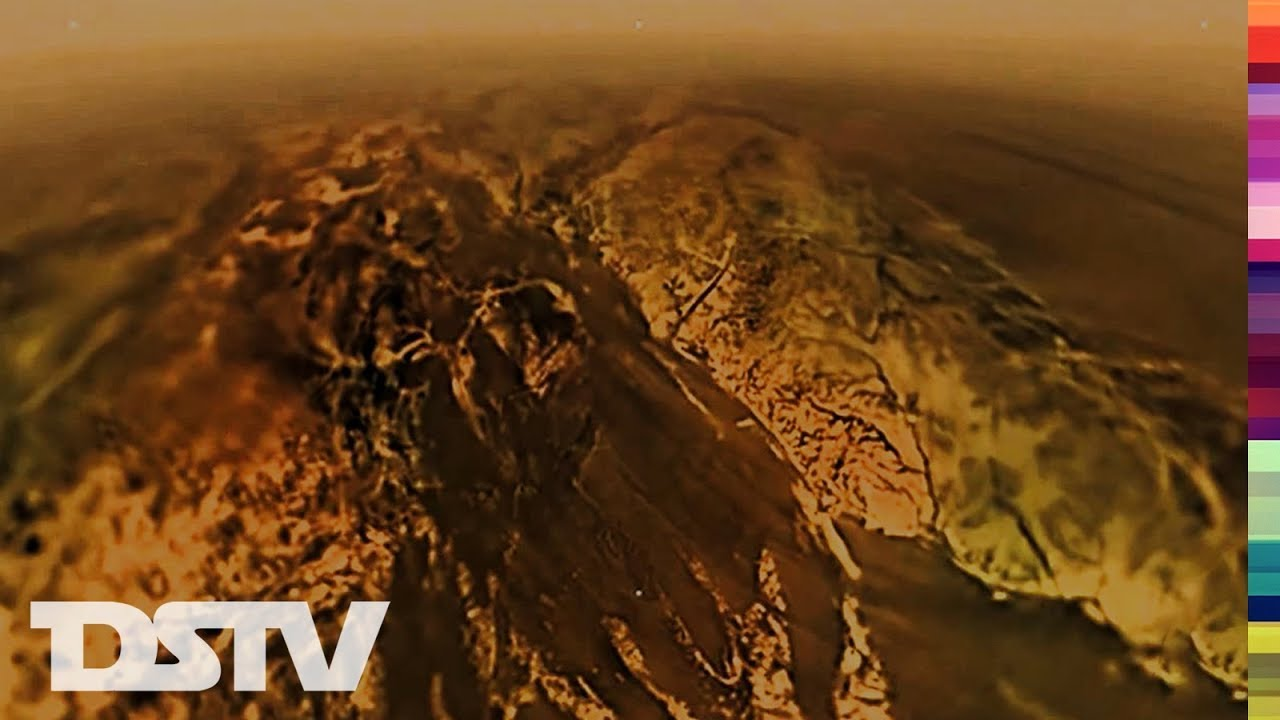 WHAT CASSINI'S PROBE: HUYGENS SAW ON TITAN - YouTube
