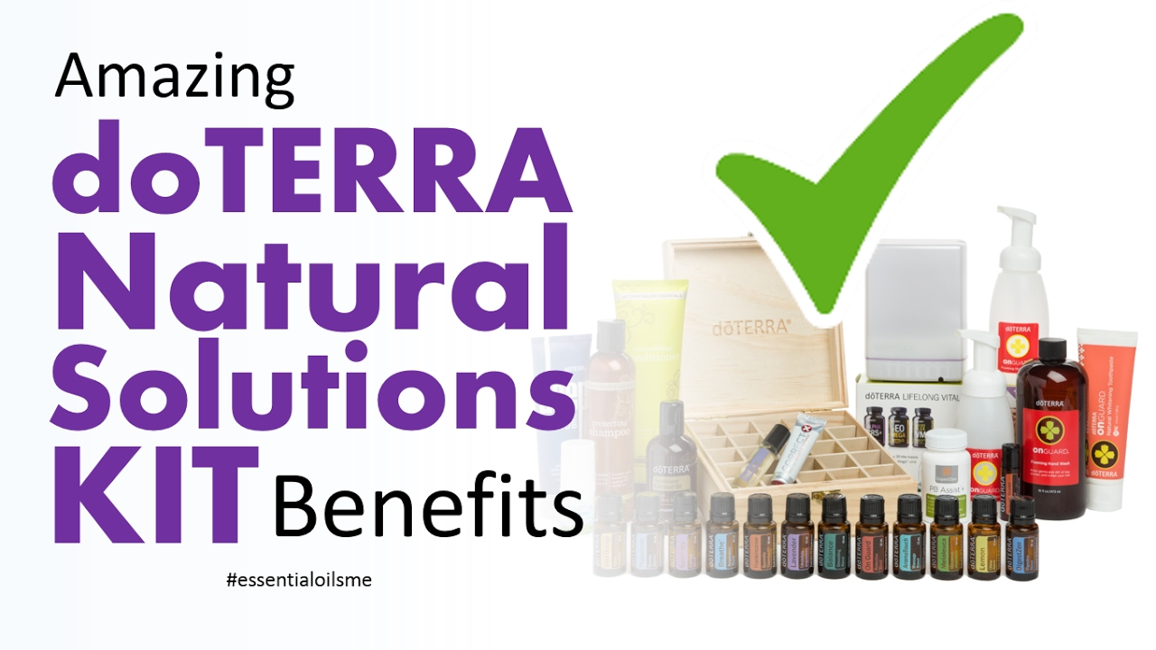 doterra natural solutions kit pdf