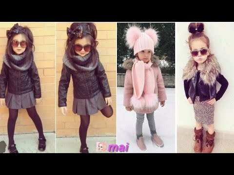 f1900f157 ملابس اطفال شتوية تركية , ملابس اطفال بنات للشتاء 2019 - YouTube