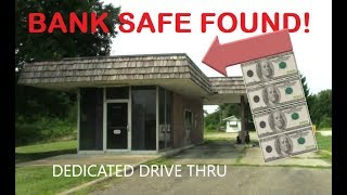 Abandoned Bank Drive Thru-Bank Safe Found!-Carrolton Ohio