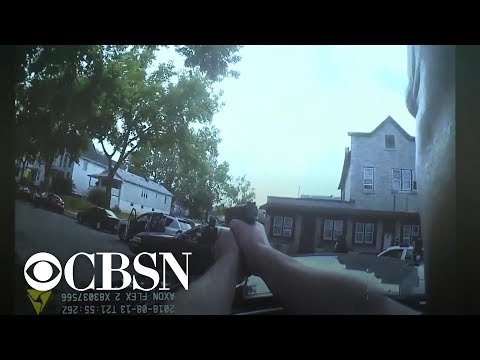 Bodycam shows officers shooting man with gun to his head