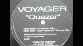 """Voyager- """"Quazar"""" (Timerider Mix)"""