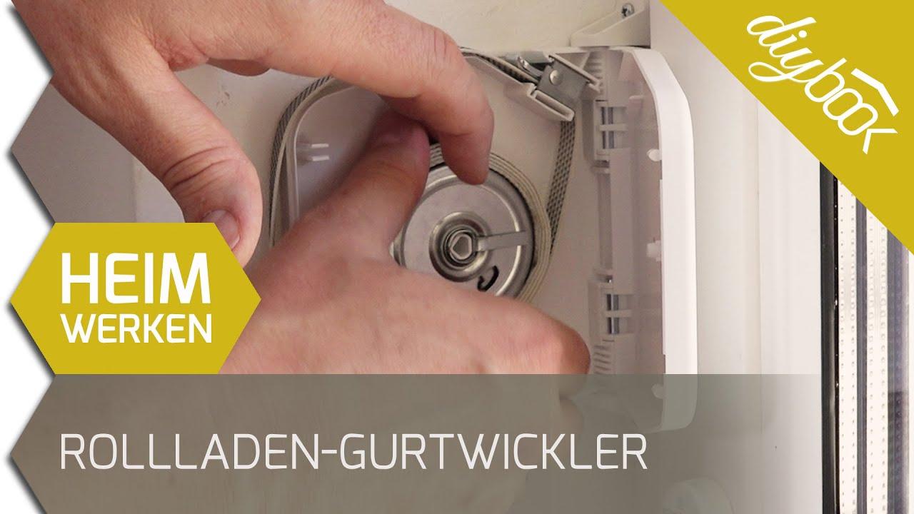 Rollladen Gurtwickler Wechseln Youtube