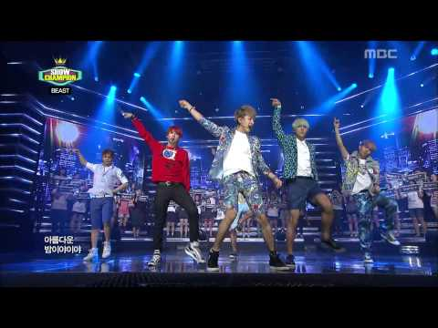 Show Champion, BEAST - Beautiful Night #10, 비스트 - 아름다운 밤이야 20120821