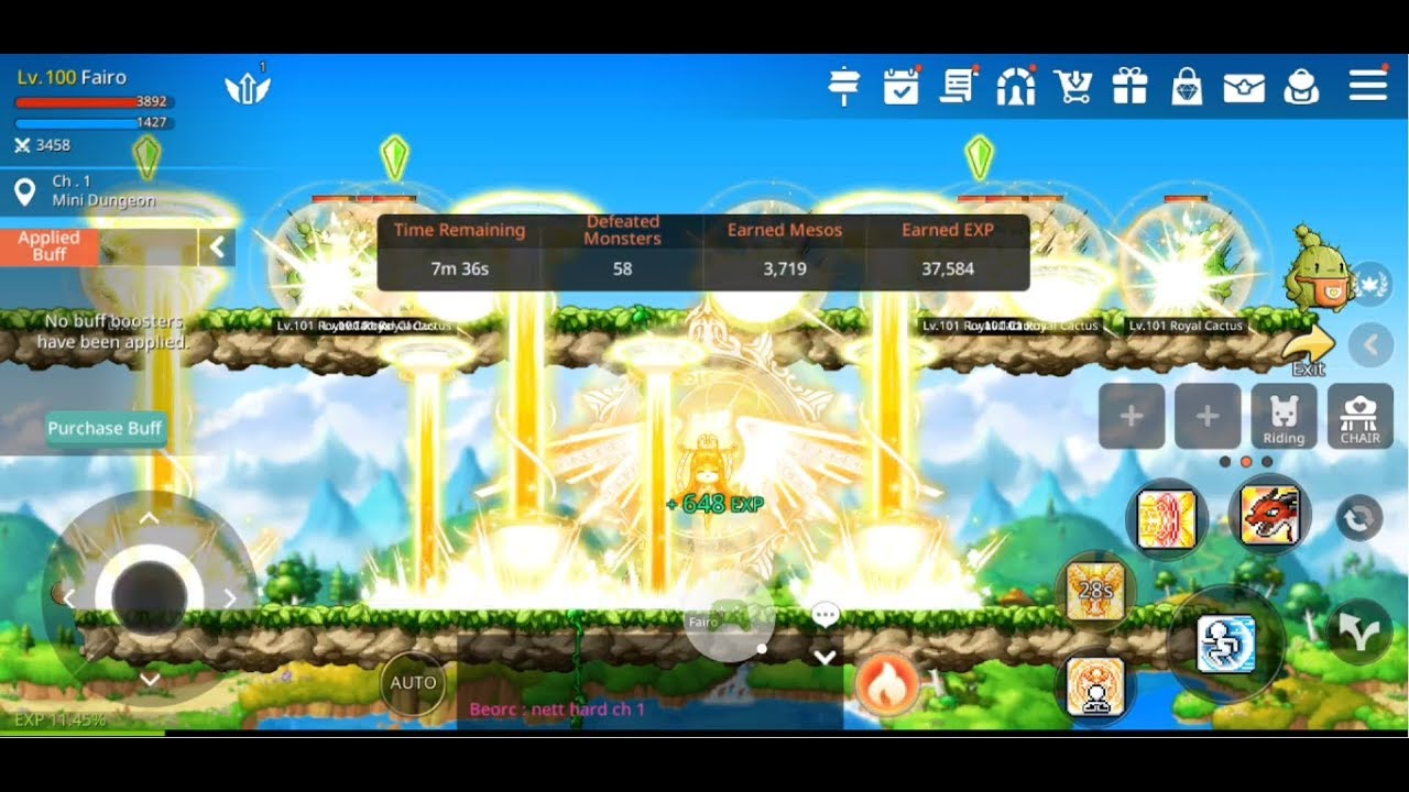 maplestory m bishop skills all job advance youtube rh youtube com Maple Learning Center Maple Learning Center